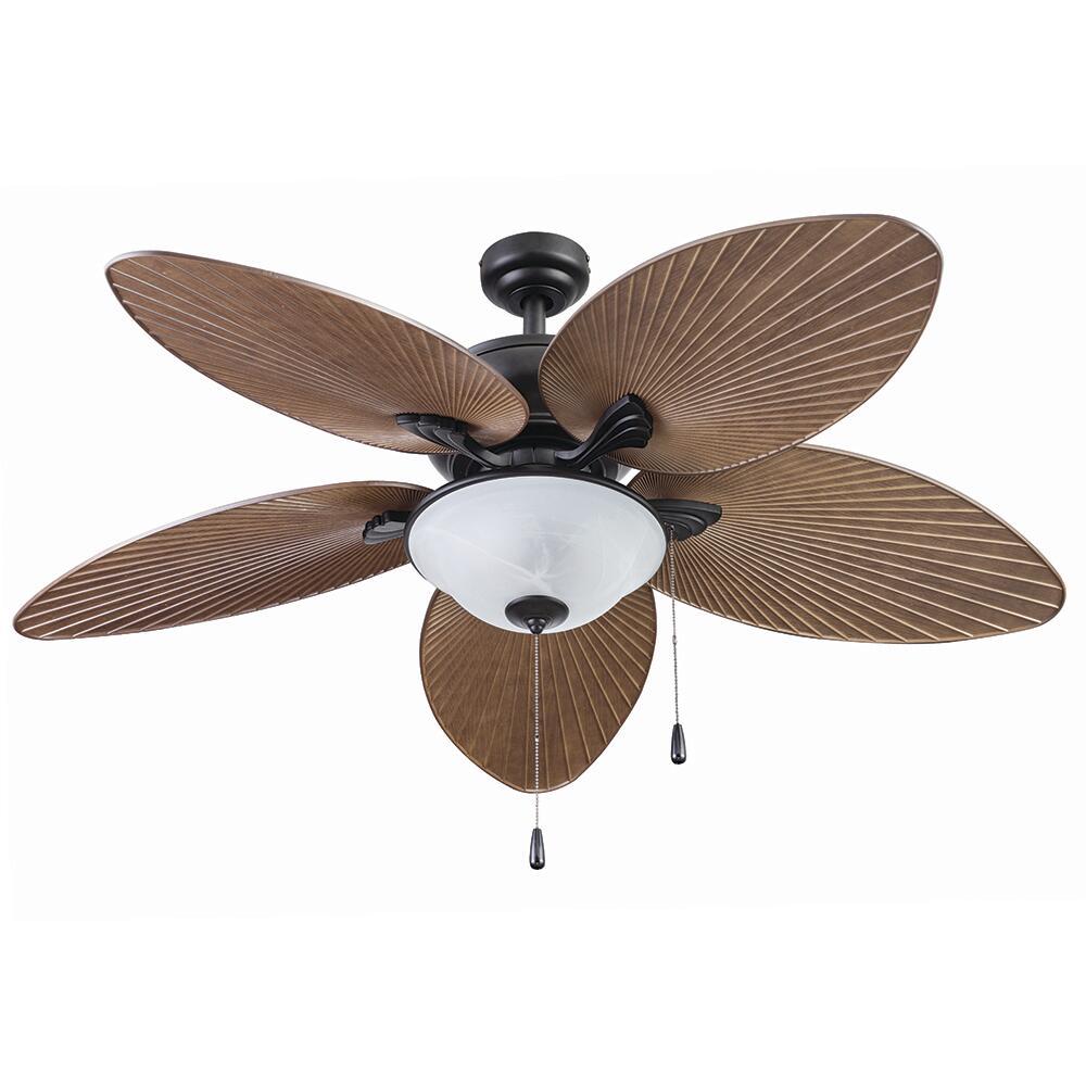 Patriot Lighting Florida Breeze 52 Bronze Indoor Outdoor Led Ceiling Fan At Menards