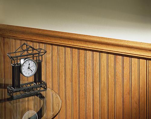 House Of Fara® 8u0027 Solid Red Oak Chair Rail Moulding At Menards®