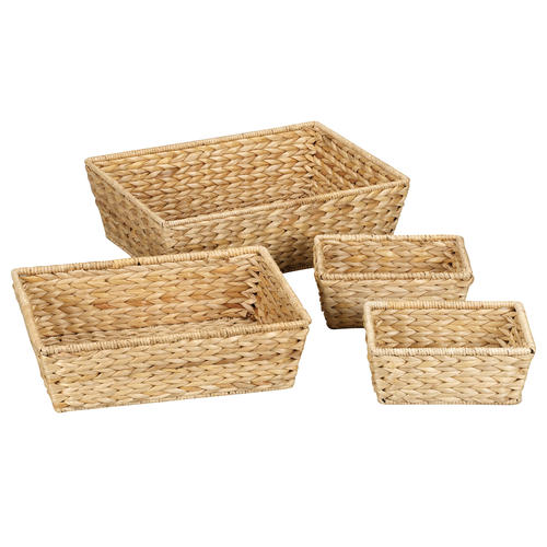 rattan basket small from storage box.htm household essentials   natural banana leaf wicker storage baskets  banana leaf wicker storage baskets