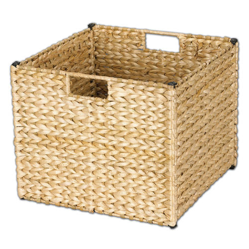 woven seagrass baskets with handles decorative storage boxes.htm household essentials   banana leaf wicker storage bin at menards    banana leaf wicker storage bin at