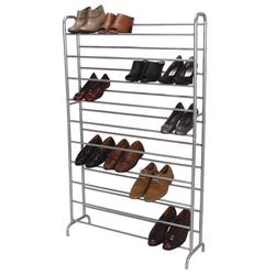 Household Essentials® 50-Pair Steel Shoe Rack