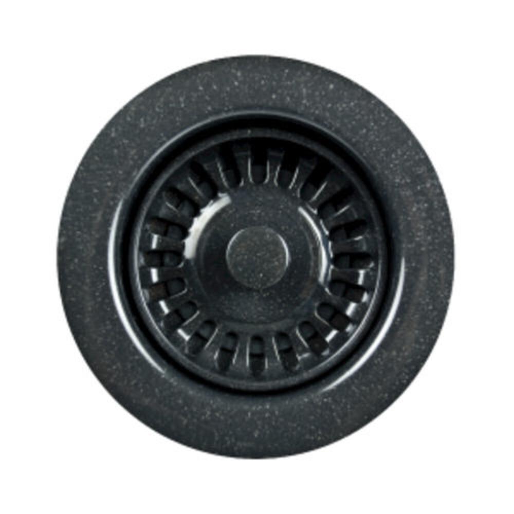Houzer 3 1 2 Granite Black Kitchen Sink Strainer Basket At Menards