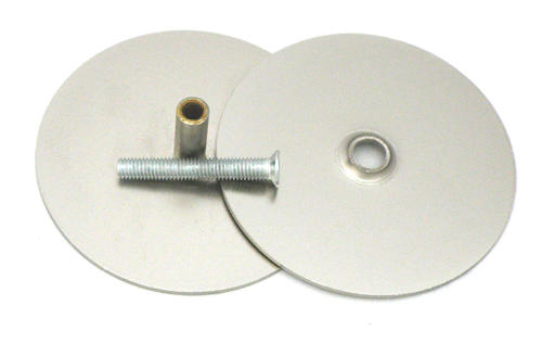 Satin Nickel Plated Steel Hole Cover Plate At Menards®