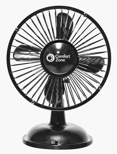 Comfort Zone 5 Oscillating Batteryusb Fan Assorted At Menards