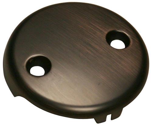 Plumb Works® 2-Hole Oil-Rubbed Bronze Bathtub Drain Overflow Face ...