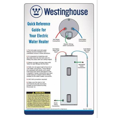 Westinghouse 100 Gallon Light Duty Electric Commercial