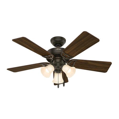 "Hunter® Quiet Breeze 44"" LED Ceiling Fan At Menards®"