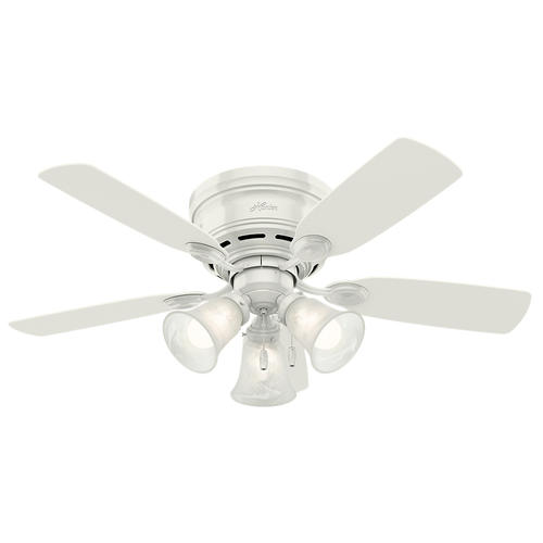 "Hunter® Low Profile® 42"" LED Ceiling Fan At Menards®"