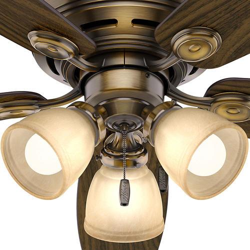 Hunter 174 Low Profile 174 52 Quot Led Ceiling Fan At Menards 174