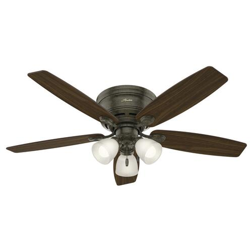 Hunter Low Profile 52 Indoor Led Ceiling Fan At Menards