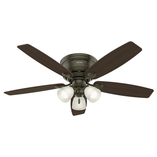 "Hunter® Low Profile® 52"" LED Ceiling Fan At Menards®"
