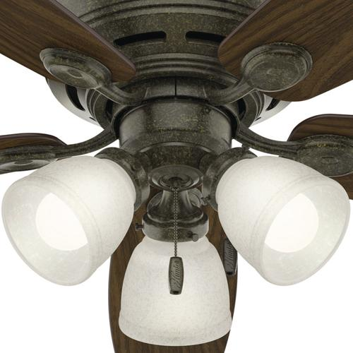 Hunter low profile 52 led ceiling fan at menards