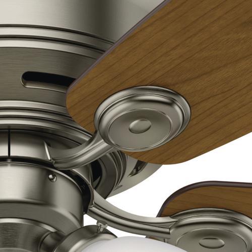 "Hunter Bowmore 52 Led Ceiling Fan At Menards: Hunter® Low Profile® 52"" LED Ceiling Fan At Menards®"