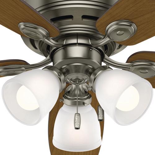 """Helpful Menards Hunter Ceiling Fans 52 Mccollum Fan On: Hunter® Low Profile® 52"""" LED Ceiling Fan At Menards®"""