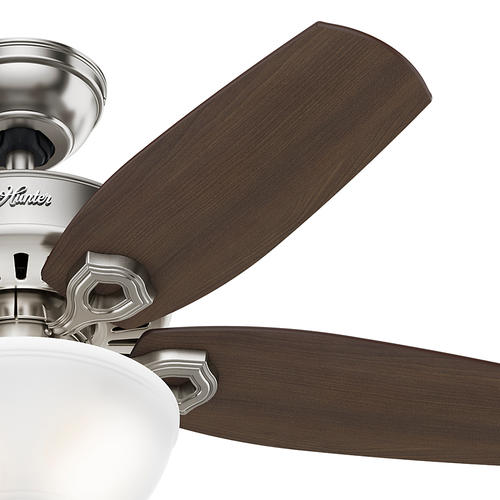 "Hunter Low Profile 52 Led Ceiling Fan At Menards: Hunter® Heathrow 52"" LED Ceiling Fan At Menards®"