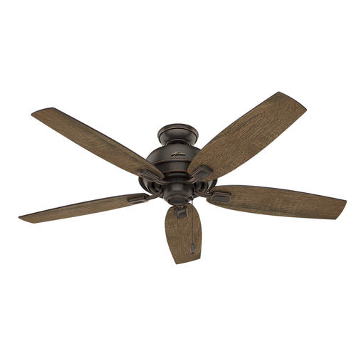"""Hunter Isleworth 54 Onyx Bengal Ceiling Fan With Light At: Hunter® Auburndale 54"""" LED Onyx Bengal Ceiling Fan At Menards®"""