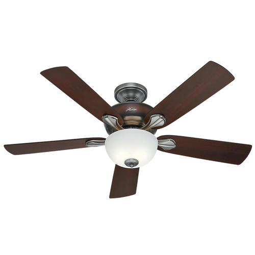"Helpful Menards Hunter Ceiling Fans 52 Mccollum Fan On: Hunter® Mayse 52"" Antique Pewter Ceiling Fan At Menards®"