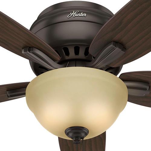 Hunter 174 Fan Newsome 52 Quot Low Profile 174 Bowl Light Ceiling Fan At Menards 174