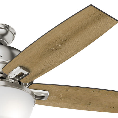 "Hunter Morelli 52 Led Brushed Nickel Ceiling Fan At Menards: Hunter® Fan Donegan 52"" LED Bowl Light Ceiling Fan At Menards®"