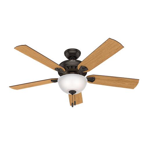 "Hunter® Thornton Park 52"" LED Ceiling Fan At Menards®"