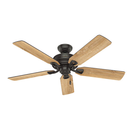 "Hunter Low Profile 52 Led Ceiling Fan At Menards: Hunter® McCollum 52"" LED Indoor Ceiling Fan At Menards®"