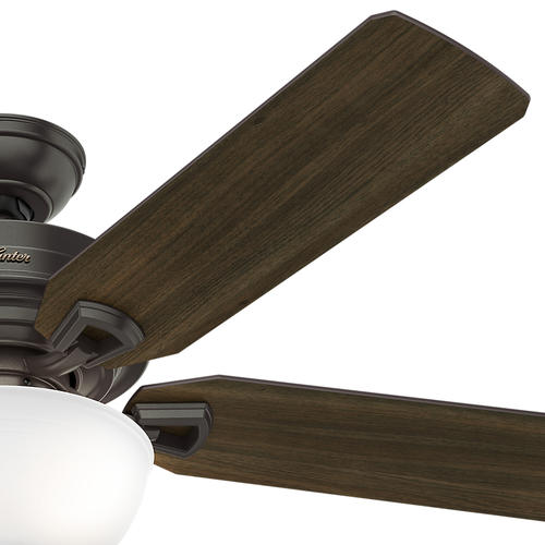 "Hunter Morelli 52 Led Brushed Nickel Ceiling Fan At Menards: Hunter® McCollum 52"" LED Indoor Ceiling Fan At Menards®"