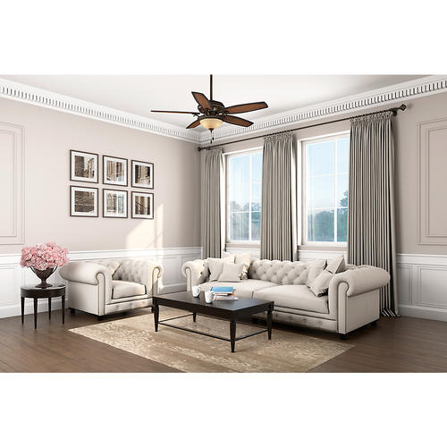"""Hunter® Fan Claymore 54"""" Indoor Brushed Cocoa Ceiling Fan"""