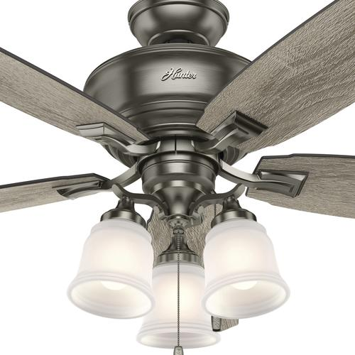 Hunter Millican 58 Led Antique Pewter Ceiling Fan At