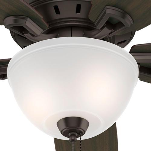 Hunter Capshaw 60 Premier Bronze Ceiling Fan With Light