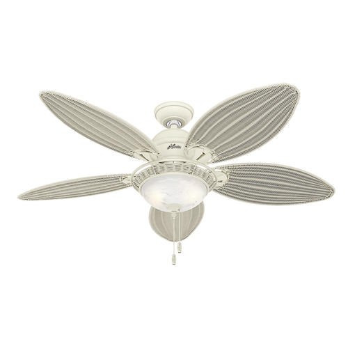 Hunter 174 Caribbean Breeze 54 Quot Textured White Ceiling Fan At