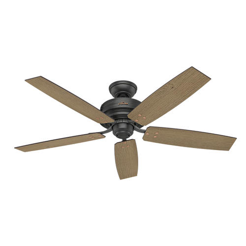 "Hunter Low Profile 52 Led Ceiling Fan At Menards: Hunter® Forgesmith 52"" LED Aged Steel Ceiling Fan At Menards®"