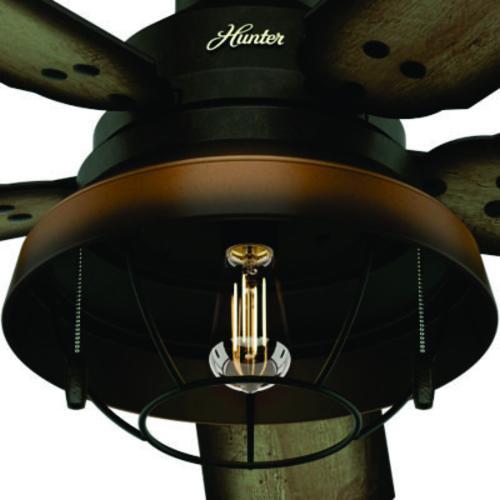 "Helpful Menards Hunter Ceiling Fans 52 Mccollum Fan On: Hunter® Landsdowne 52"" LED Cheyenne Bronze Indoor/Outdoor"
