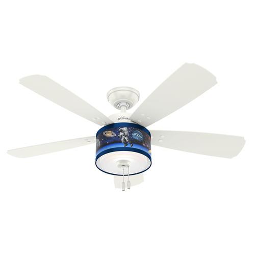 48 ceiling fan with light modern metal hunter jesse 48