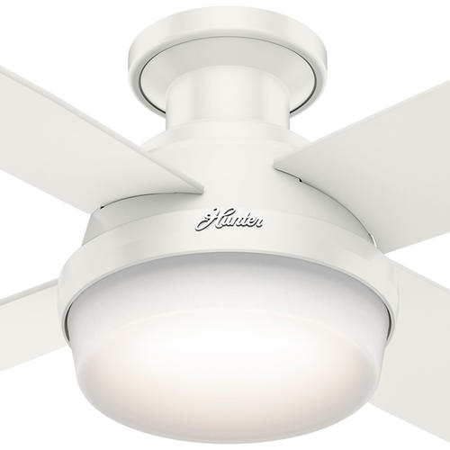"Hunter Bowmore 52 Led Ceiling Fan At Menards: Hunter® Fan Dempsey 52"" Low Profile® LED Indoor Fresh"
