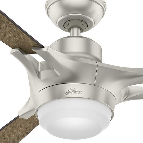 Hunter Signal 54 Led Matte Nickel Wi Fi Ceiling Fan