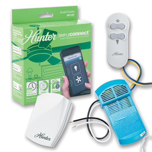Hunter Bluetooth Ceiling Fan: Hunter® Simpleconnect™ Programmable Fan Control At Menards®