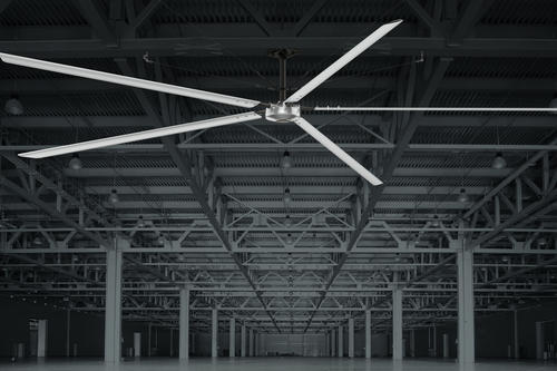 Hunter industrial titan 14 industrial indoor anodized aluminum hvls hunter industrial titan 14 industrial indoor anodized aluminum hvls ceiling fan at menards aloadofball Choice Image