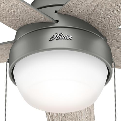 Hunter Fan Cased White Twist Lock Globe Replacement Glass At Menards