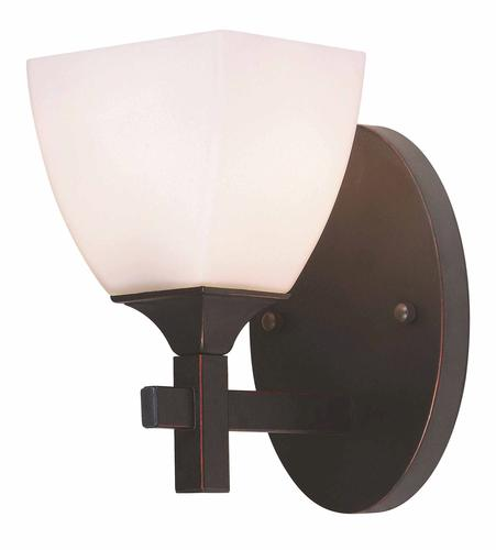 Bathroom Sconces Menards hunter lighting omega oil-rubbed bronze contemporary 1-light