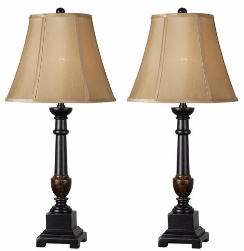 Andy 2 Pack Golden Flecked Bronze Table Lamp At Menards®
