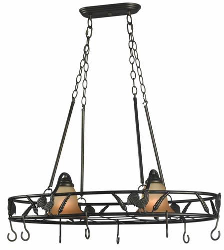 Bantam Light Pot Rack At Menards - Kitchen pot rack light fixtures