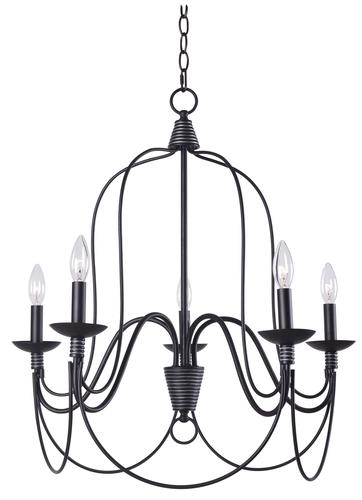 Hunter Lighting Wisket Medium Oil Rubbed Bronze Transitional 5 Light Chandelier At MenardsR