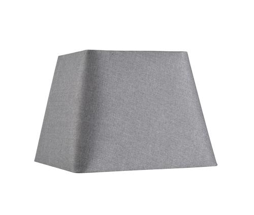 Hunter Lighting Mix And Match 11 Grey Square Lamp Shade