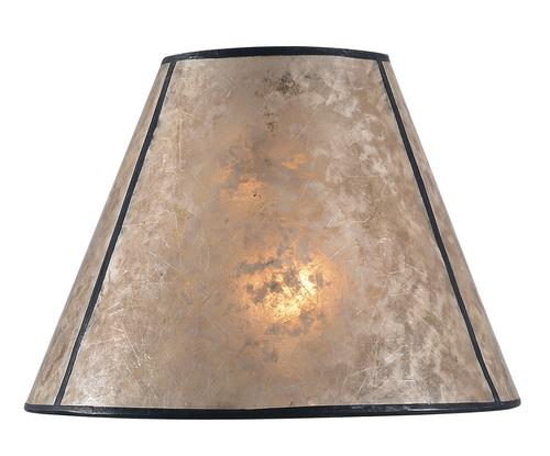 Hunter lighting mix and match 10 mica tapered lamp shade at menards mozeypictures Gallery