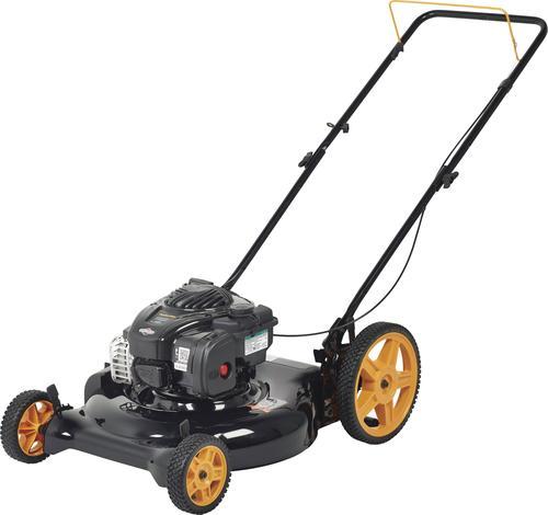 poulan pro 21 140cc gas push lawn mower at menards
