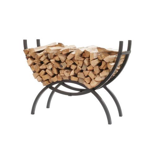 decorative indoor firewood rack outdoor fireplace wood.htm shelter 48  firewood crescent log rack at menards    firewood crescent log rack at menards