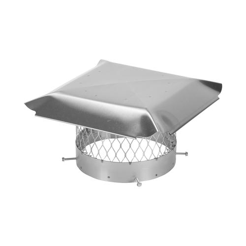 Terminal Hat Conical Flue Stainless Insulated DN 100//150