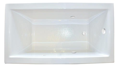 "Hydro Massage Products 72"" x 36"" x 23"" Biscuit Zen Soaking Tub"