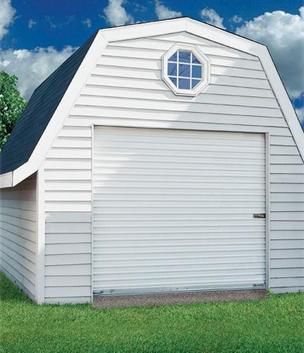 & Ideal Door® Ribbed Model 200M Roll-Up Door at Menards®