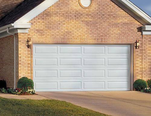 Ideal Door® EZ-SET® 4-Star 16u0027 x 7u0027 White Ranch Panel Insulated Garage Door at Menards® & Ideal Door® EZ-SET® 4-Star 16u0027 x 7u0027 White Ranch Panel Insulated ... pezcame.com